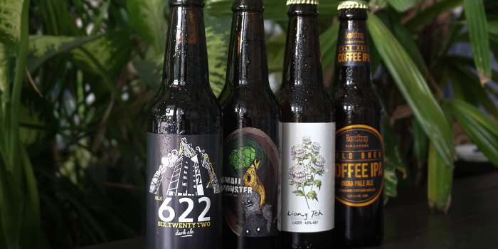 Craft Beer from Five Oars Coffee Roasters in Tanjong Pagar, Singapore