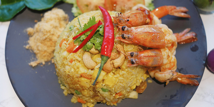 Pineapple Fried Rice with Prawn from Kin Kao Mai Thai Restaurant in Punggol, Singapore