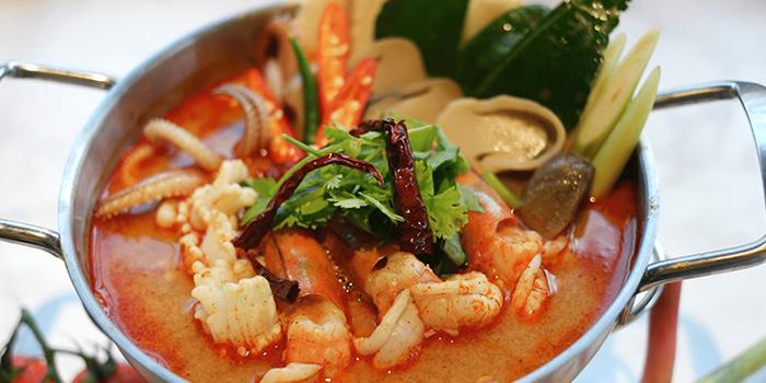 Tom Yum Soup from Kin Kao Mai Thai Restaurant in Punggol, Singapore