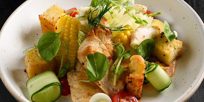 Signature Salad from Flavors at Renaissance Bangkok Ratchaprasong Hotel in Ploenchit, Bangkok