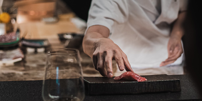 Sushi from Ki Shin Omakase at Hotel Nikko Bangkok Khlong Tan Nua, Wattana Bangkok