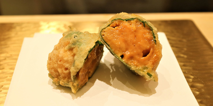 Uni Roll from Ginza Tenharu at Gaysorn Village, 3rd floor 999 Phloen Chit Rd Lumphini, Pathum Wan Bangkok