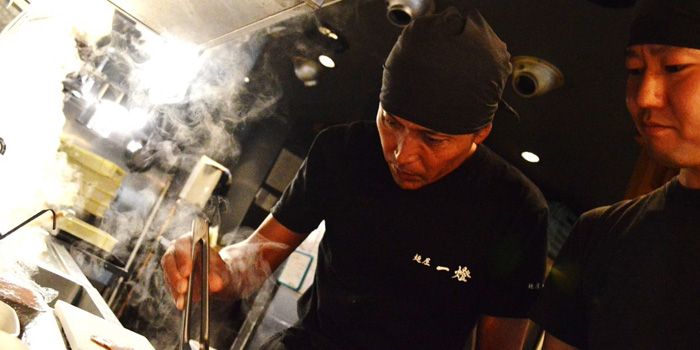 The Chef of Menya Itto at 494 Grand Hyatt Erawan LG Floor, Room LG-01, Ploenchit Road Lumphini, Pathumwan Bangkok