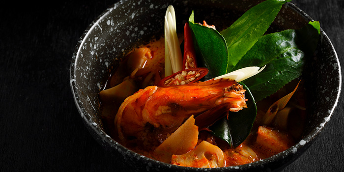 Tom Yum Goong from Flavors at Renaissance Bangkok Ratchaprasong Hotel in Ploenchit, Bangkok
