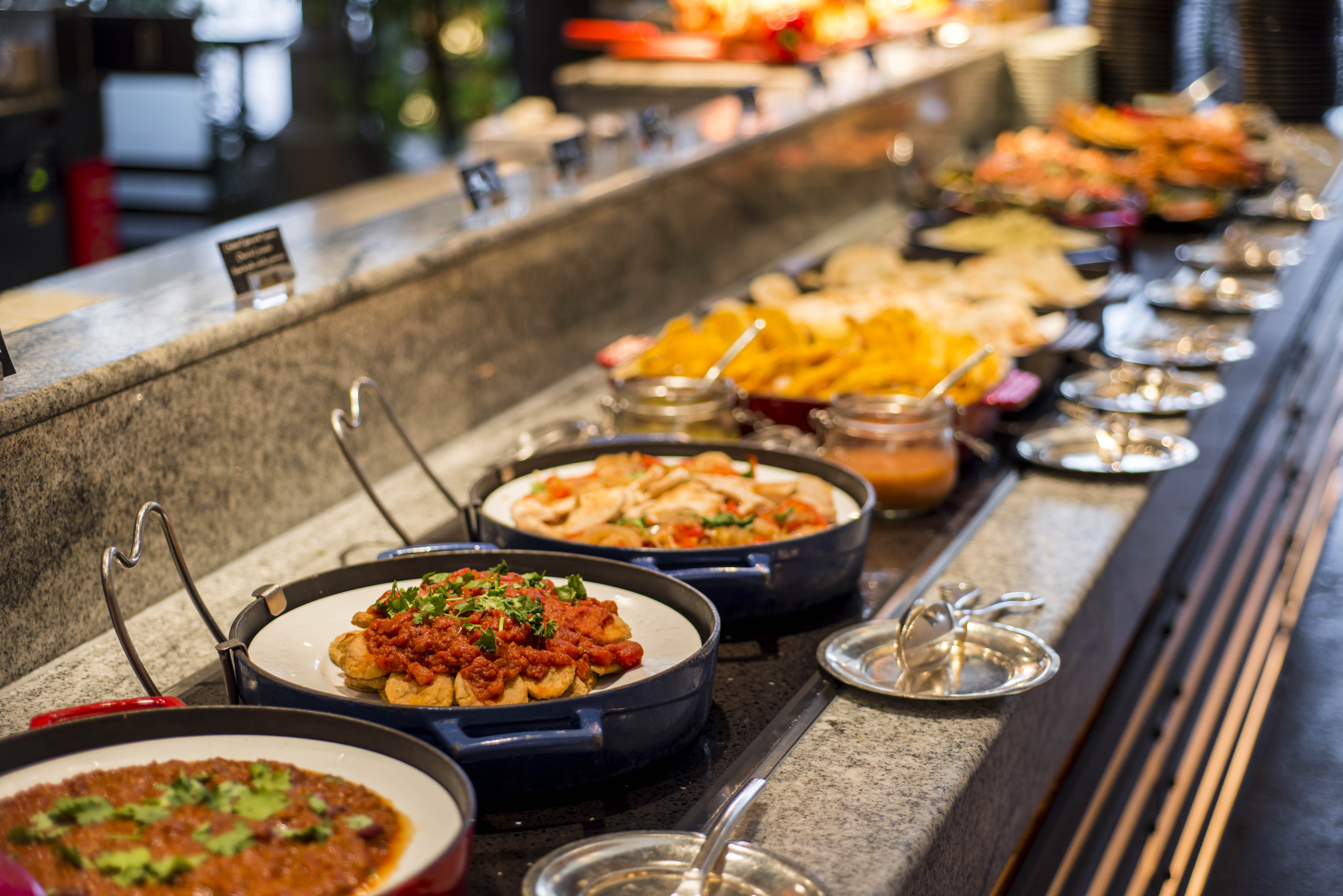 Food of River Café & Terrace at The Peninsula Bangkok