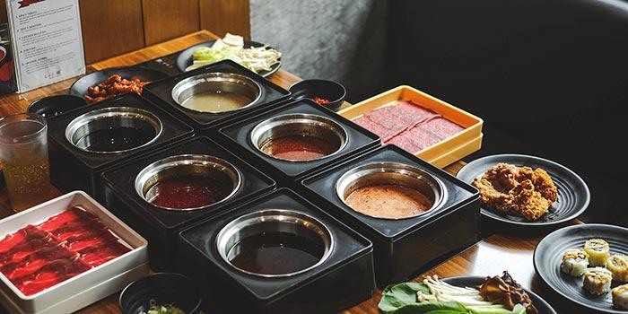 All Soup at Shabu Ghin, Kebayoran Baru