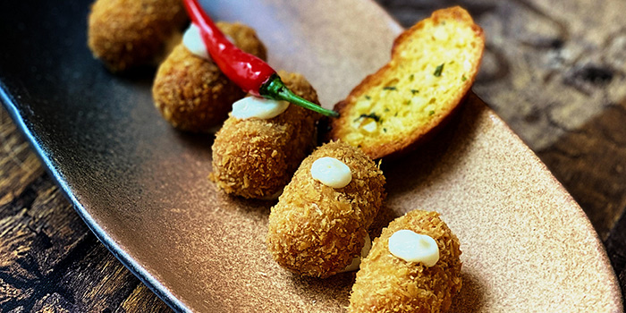 Chicken Croquettes from Cuba Libre Cafe & Bar (Clarke Quay) in Clarke Quay, Singapore