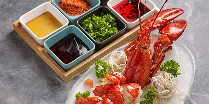 Lobster Noodle from Taikoo Lane Hotpot 太古里火锅 in Chinatown, Singapore