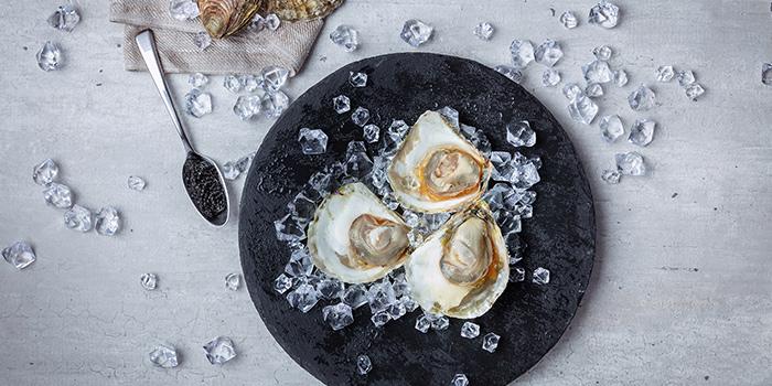 Seasonal Oysters from Ocean Restaurant at Resorts World Sentosa in Sentosa, Singapore