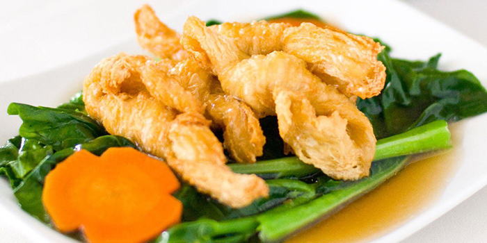 Kale from Fo You Yuan Vegetarian Restaurant 佛有缘素食馆 in Lavender, Singapore