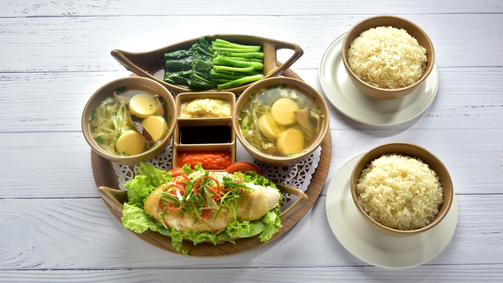 Hainese Chicken Rice from Hard Rock Cafe Bangkok in Siam Square Soi 11, Bangkok