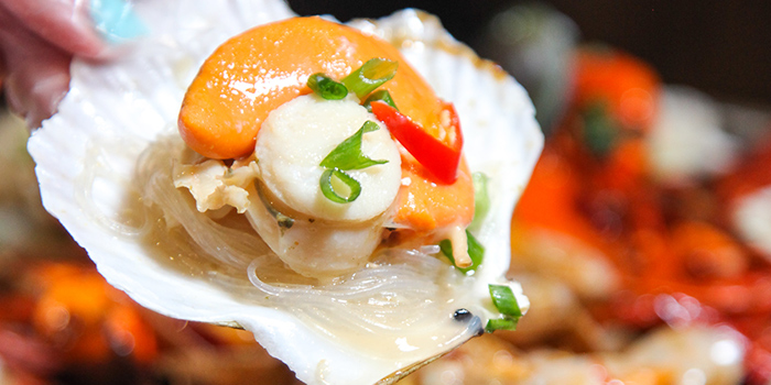 Scallop from Happy Dining Seafood 喜来聚海鲜 in Chinatown, Singapore