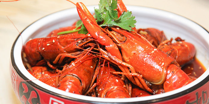 Mala Mini Lobster from Happy Dining Seafood 喜来聚海鲜 in Chinatown, Singapore