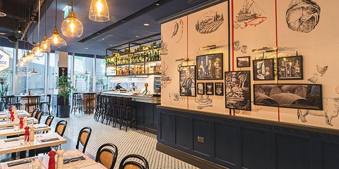 Indoor of So France at Duo Galleria in Bugis, Singapore