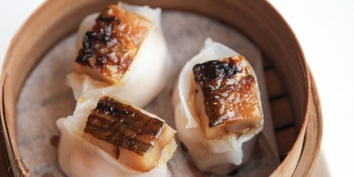 Unagi Dimsum at Pearl (JW Marriott)