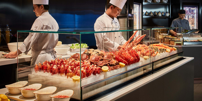 Seafood Bar, JW Cafe, Admiralty, Hong Kong