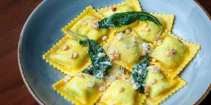 Spinach Ricotta Ravioli from LINO in Bukit Timah, Singapore from LINO in Bukit Timah, Singapore