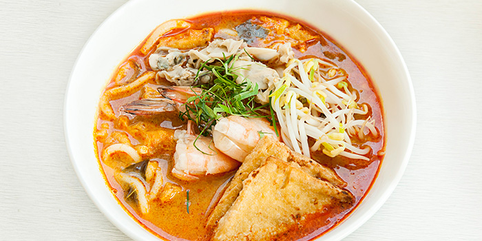 Singapore Laksa from The Square Restaurant in Novotel Singapore Clarke Quay, in Clarke Quay, Singapore