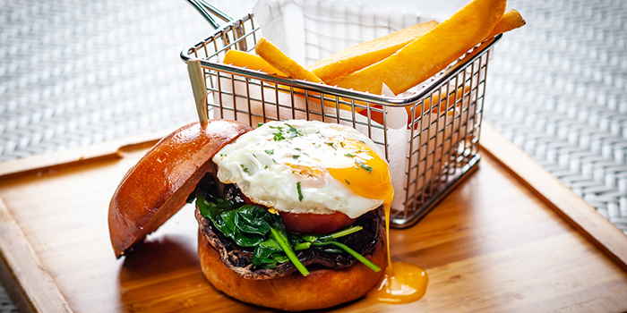 Breakfast Burg from PORTA in Park Hotel Clarke Quay in Robertson Quay, Singapore