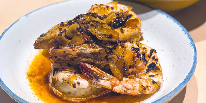 Angkar Prawns from CHICHI in Telok Ayer, Singapore