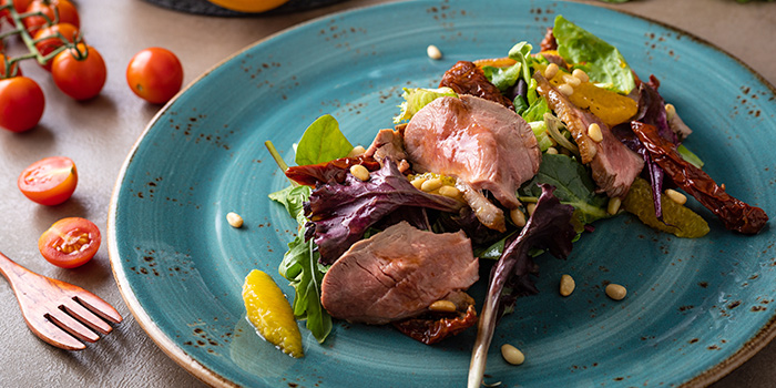 Smoked Duck Carpaccio from CulinaryOn (Weekend Brunch) at Robertson Walk in Robertson Quay, Singapore
