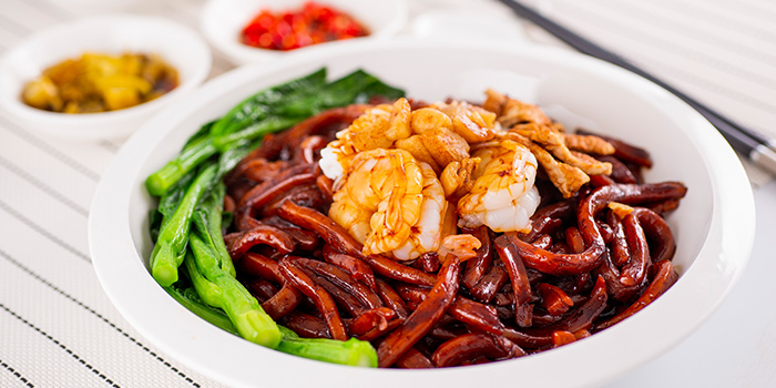 K.L Style Hokkien Mee from Famous Kitchen in Sembawang, Singapore