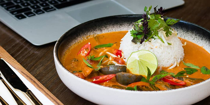 Thai Style Curry from Genius Central Singapore in Telok Ayer, Singapore