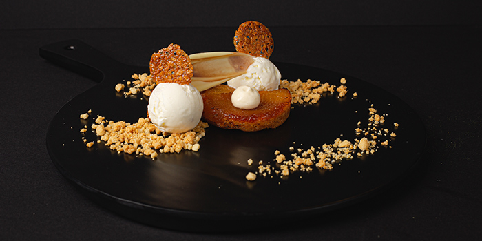 Tatin Dessert from House on the Moon in River Valley, Singapore