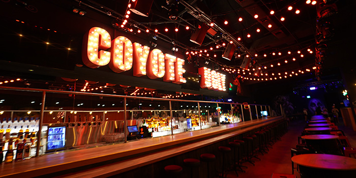 Interior of Coyote Ugly Saloon in Clarke Quay, Singapore
