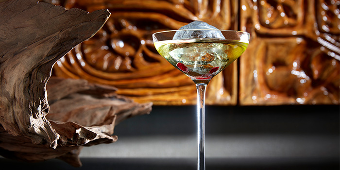 Uproot from MO BAR at Mandarin Oriental Singapore in City Hall, Singapore