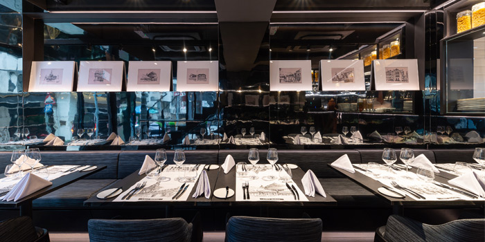 Dining Area, Crit Room, Sheung Wan, Hong Kong