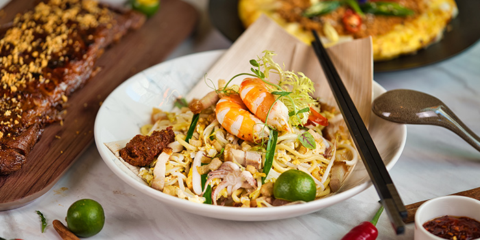 Signature Hokkien Mee from Route 65 Bar + Kitchen at Suntec City North Wing in Promenade, Singapore
