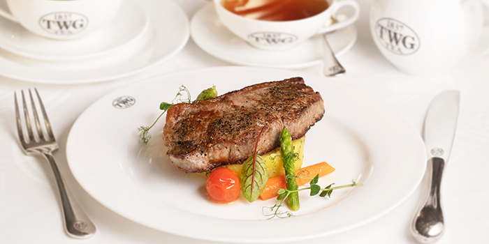 Hydro Aged Veal Striploin at TWG Tea Salon & Boutique (Plaza Senayan)