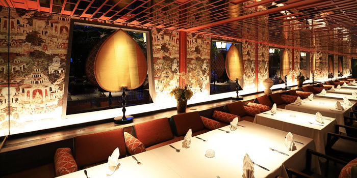 Ambience from Jim Thompson Restaurant and Wine Bar on Rama 1 Road, Bangkok