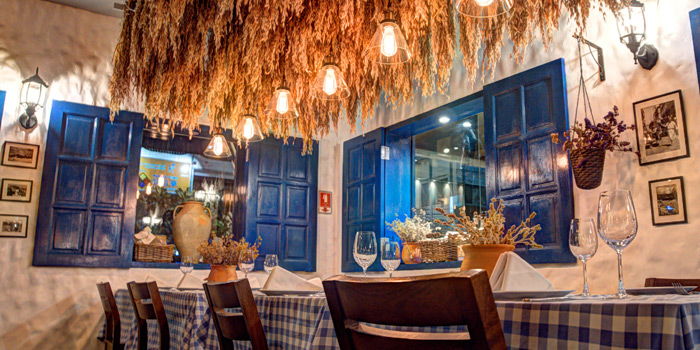 Ambience from AVRA Authentic Greek Restaurant in Sukhumvit Soi 33, Bangkok