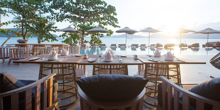 Atmosphere of My Cafe in Panwa, Phuket, Thialand
