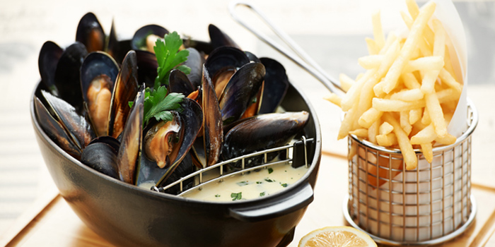 Australian Kinkawooka Mussels, Fish Bar, Admiralty, Hong Kong
