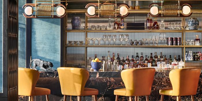 Bar Area of Nan Bei at Rosewood Bangkok Hotel 1041/38 Ploenchit Road Lumpini, Pathumwan Bangkok