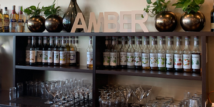 Bar of Amber West in Choa Chu Kang, Singapore