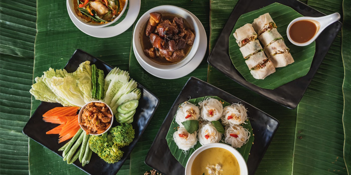 Big Meal from Eurasian in Patong, Phuket, Thailand
