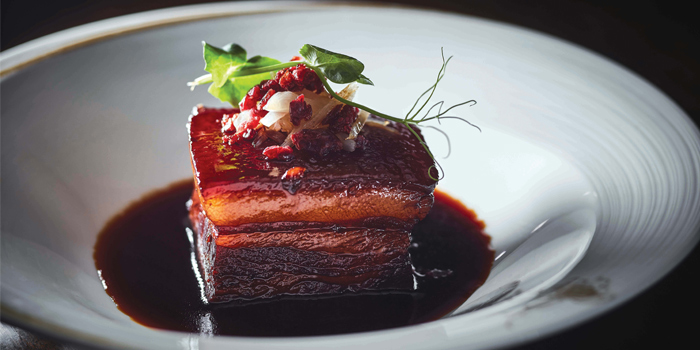 Braised Pork Belly in Sweetened Vinegar Sauce, Man Ho Chinese Restaurant, Admiralty, Hong Kong