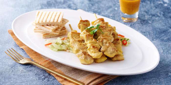 Chicken-Satay from of En Vogue in Karon, Phuket Thailand