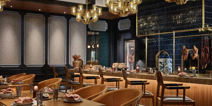 Dining Area of Nan Bei at Rosewood Bangkok Hotel 1041/38 Ploenchit Road Lumpini, Pathumwan Bangkok