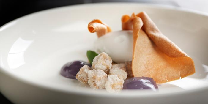 Fried Sugar Taro served with Taro Puree, Maison ES, Wan Chai, Hong Kong
