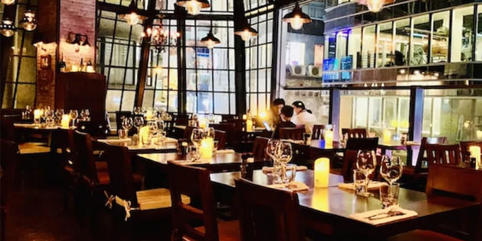 Interior, El Gaucho Argentinian Steakhouse, Central, Hong Kong