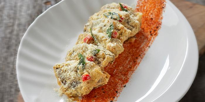 Portobello Mushroom Wrap from Lai Bao Fish Head Steamboat 徕寶鱼头炉 in Toa Payoh, Singapore