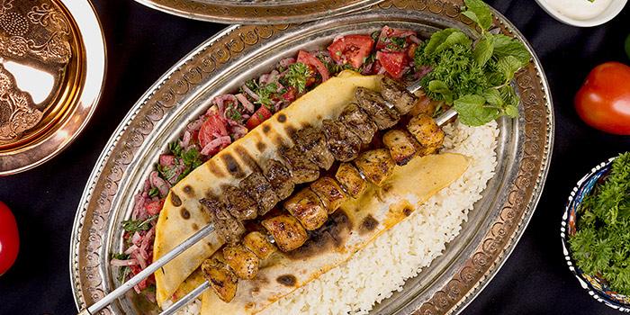 Lamb And Chicken Kebab at Warung Turki Shisha Lounge