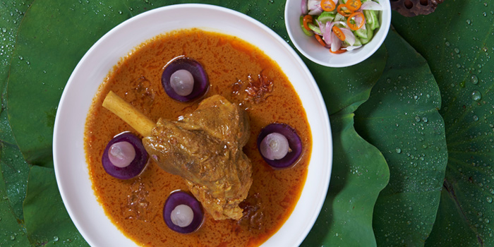 Lamb Shank Yellow Curry from Khao at Tonson at 34/1 Soi Tonson, Lumpini, Pathumwan, Bangkok