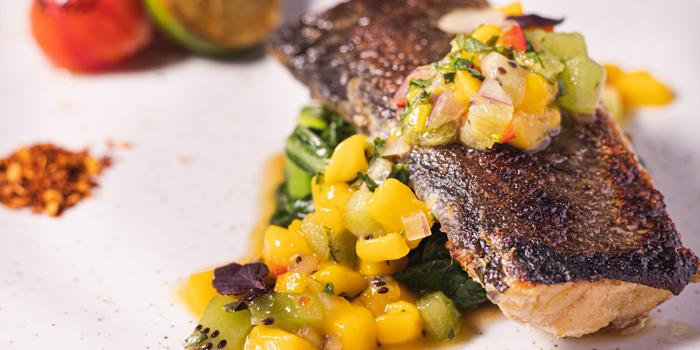 V Day - Pan-Roasted Thai Style Cod Fish, Greenhouse, Causeway Bay, Hong Kong