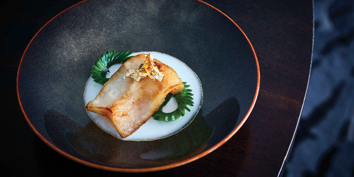 Pan-fried Fish Maw with Almond Chicken Broth, Man Ho Chinese Restaurant, Admiralty, Hong Kong